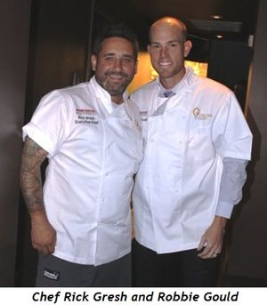 1 - Chef Rick Gresh, Robbie Gould