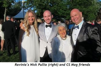 Ravinia's Nick Pullia and CS Mag friends