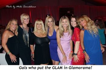 6 - Gals who put the GLAM in Glamorama!