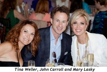 7 - Tina Weller, John Carroll and Mary Lasky