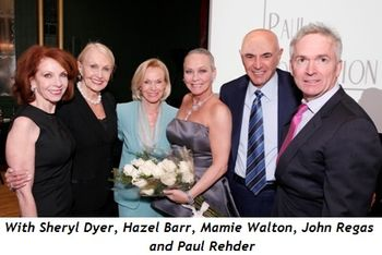 7 - With Sheryl Dyer, Hazel Barr, Mamie Walton, John Regas and Paul Rehder