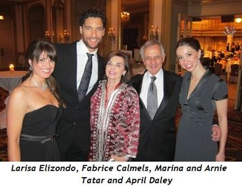 7 - Larisa Elizondo, Fabrice Calmels, Marina and Arnie Tatar, April Daley
