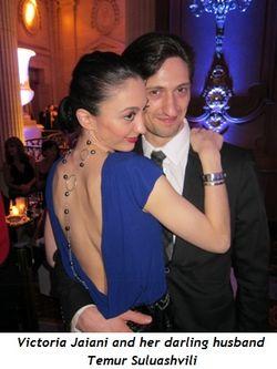 8 - Victoria Jaiani and her darling husband Temur Suluashvili
