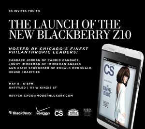 Blackberry Launch Invitation