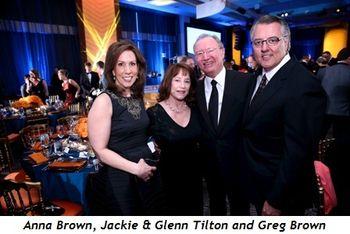 2 - Anna Brown, Jackie and Glenn Tilton and Greg Brown