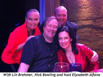 1 - With Lin Brehmer, Nick Bowling and host Elysabeth Alfano