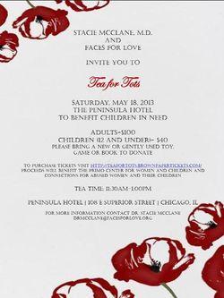 Tea for Tots invite image