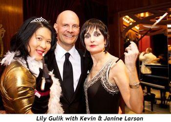 5 - Lily Gulik, Kevin & Janine Larson