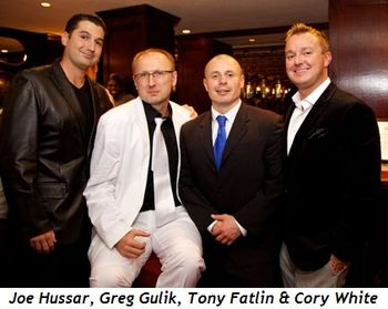 17 - Joe Hussar, Greg Gulik, Tony Fatlin, Cory White