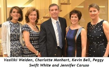 2 - Vasiliki Weiden, Charlotte Monhart, Kevin Bell, Peggy Swift White and Jennifer Caruso