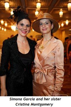 Simona Garcia and Cristina Montgomery