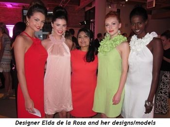 10 - Designer Elda de la Rosa and her designs-models