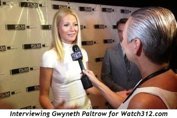 Interviewing Gwyneth Paltrow for Watch312