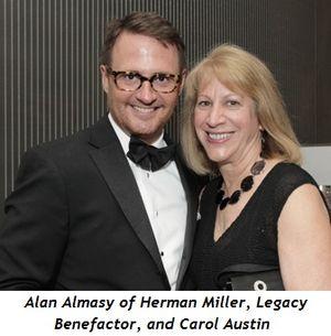 4 - Alan Almasy of Herman Miller, Legacy Benefactor, and Carol Austin