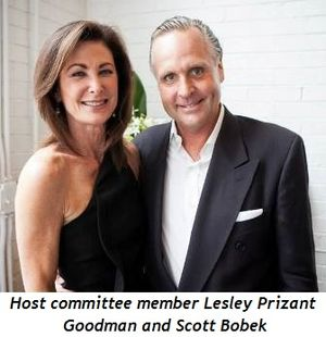 3 - Host committee member Lesley Prizant Goodman and Scott Bobek