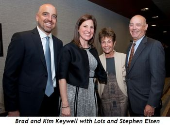 6 - Brad and Kim Keywell, Lois and Stephen Eisen