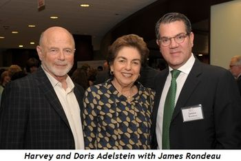 16 - Harvey and Doris Adelstein with James Rondeau