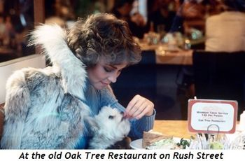 At the old Oak Tree Restaurant on Rush St.