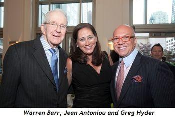 2 - Warren Barr, Jean Antoniou and Greg Hyder