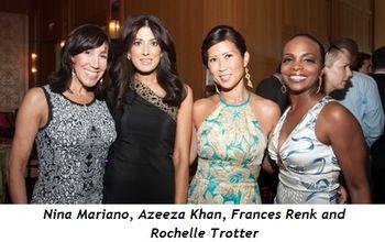 3 - Nina Mariano, Azeeza Khan, Frances Renk, Rochelle Trotter