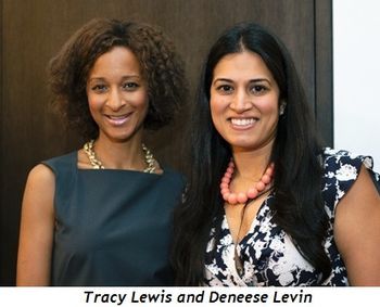 Tracy Lewis and Deneese Levin
