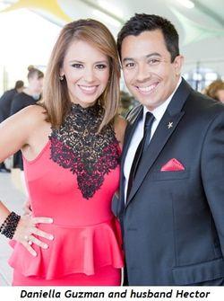 4 - Daniella Guzman and husband Hector