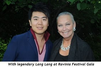 With legendary Lang Lang at Ravinia Festival Gala