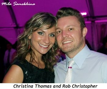 4 - Christina Thomas and Rob Christopher
