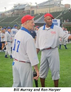 2 - Bill Murray and Ron Harper