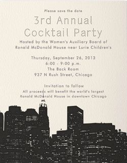 RMH cocktail party invite