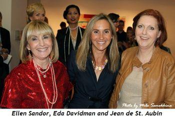 3 - Ellen Sandor, Eda Davidman and Jean de St. Aubin