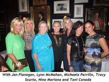 2 - With Jan Flanagan, Lynn McMahan, Michaela Parrillo, Tracy Scurto, Nina Mariano and Toni Canada