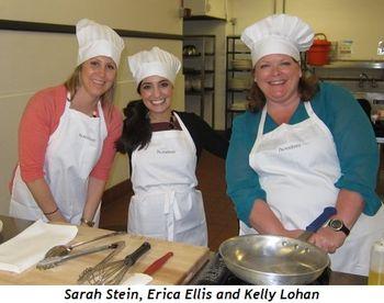 4 - Sarah Stein, Erica Ellis and Kelly Lohan