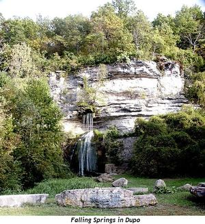 4 - Falling Springs in Dupo