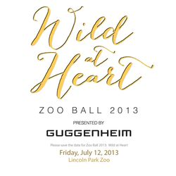 Zoo ball invite