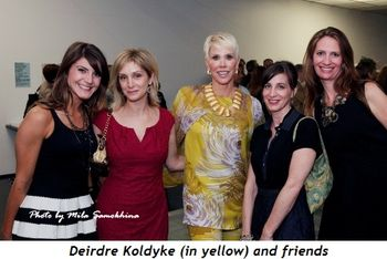 5 - Deirdre Koldyke (in yellow) and friends