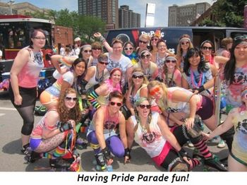 8 - Having Pride Parade fun!