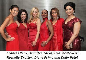 2 - Frances Renk, Jennifer Zacka, Eva Jacabowski, Rochelle Trotter, Diane Primo and Dolly Patel