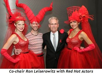 3 - Co-chair Ron Leiserowitz with Red Hot Actors