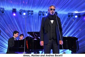 4 - Amos, Matteo and Andrea Bocelli