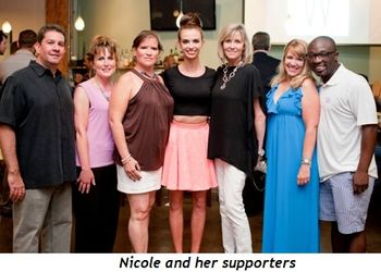 2 - Nicole and her supporters