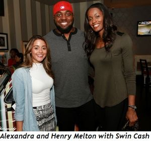 3 - Alexandra, Henry Melton and Swin Cash