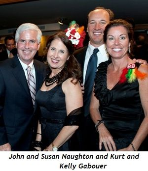 4 - John and Susan Naughton and Kurt and Kelly Gabouer
