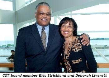 9 - CST board member Eric Strickland and Deborah Liverett