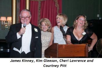 1 - James Kinney, Kim Gleeson, Cheri Lawrence and Courtney Pitt