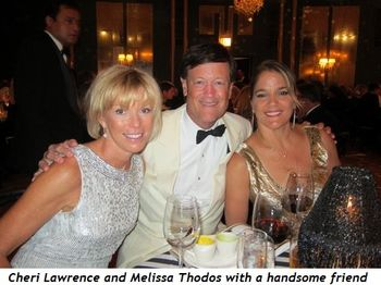 10 - Cheri Lawrence and Melissa Thodos with a handsome friend