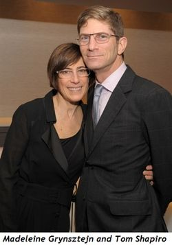 1 - Madeleine Grynsztejn and Tom Shapiro
