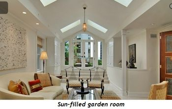 3 - Sun-filled garden room