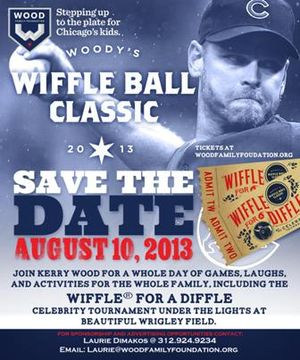 Woody's Wiffle Ball Classic invite image