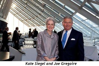 Kate Siegel and Joe Gregoire